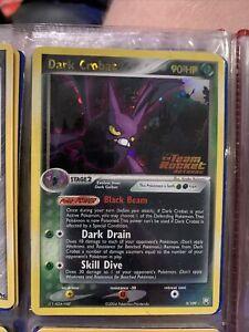 2004 Pokemon Card Dark Crobat Ex Team Rocket Returns Holo Foil Rare 3/109