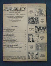 MAD magazine number 118 April 1968 48 pages no cover