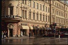 078082 un grande CAFE su Aura STREET Turku A4 FOTO STAMPA