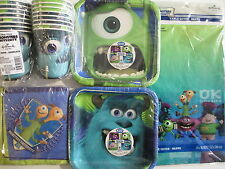 MONSTERS UNIVERSITY - DISNEY Birthday Party Supply Kit for 16