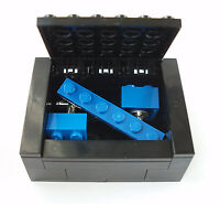Cufflinks Tie Slide Box Set made with LEGO brick wedding groom clip pin best man