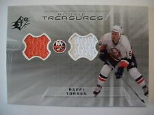 2001-2002 SPX Rookie Treasures RAFI TORRES  RANGERS RT-RT Dual Jersey     BOX 52