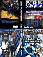 11 DVD BOX  ULTRAS ATALANTA BERGAMO CURVA NORD || BNA || WILD KAOS || NOMADI ||