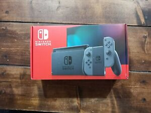 Nintendo Switch Grey Console (Improved Battery) - Next Day Delivery