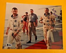 MICHAEL COLLINS SIGNED APOLLO 11 ASTRONAUT 8X10 PHOTO BECKETT CERTIFIED