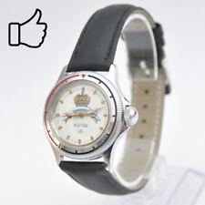 VOSTOK KOMANDIRSKIE 17 JEWELS russische Armbanduhr Wasserfest Commander's Uhren