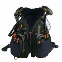 Fly Fishing Backpack Adjustable Size Mesh Fishing Vest Pack Backpack Combo US