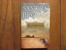 "SANDRA  BROWN  Signed  Book (""RAINWATER""-2009  First  Edition  Hardback)"