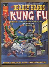 Deadly Hands of Kung Fu 10 (Pretty-Sharp!) Early app. Iron Fist; 1975 (c#13260)