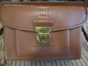 OMNICA KIII Leica STL Leather Camera Bag Mint Condition - West Germany