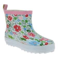 Scarpe stivali bianchi gomma per bambini dai 2 ai 16 anni
