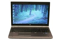 "HP Elitebook 8570p, 15.6"" Laptop, Core i5, HDD or SSD, 6/8/16Gb, Windows 7/10"