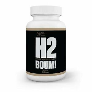 H2 Boom Molecular Hydrogen Sports Water Hydration Supplement Tablets