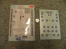 Superscale decals 1/72 72-693 P-40E Warhawk 49th FG Hennon Angel Sims Flack J43