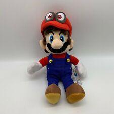 "Super Mario Odyssey Mario Peluche Juguete Muñeca De Peluche Animal de Peluche suave de 11.5"""