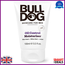 Bulldog Oil Control Moisturiser 100ml Skincare Men Natural Ingredients Skin Gift