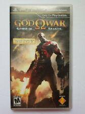 God of War: Ghost of Sparta (Sony PSP, 2010) CIB.