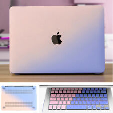 2in1 Double Color Hard Case +Keyboard Skin For Macbook Air 13 A1369 A1466 A1932