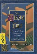 The Treasury of David by Charles Spurgeon, HB w/DJ, NKJV, Updated by Roy Clarke