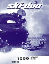 Ski-Doo parts manual catalog book 1999 SKANDIC 380 & 1999 SKANDIC 500
