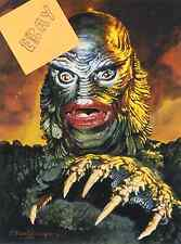 CREATURE FROM THE BLACK LAGOON- GILL MAN- ART  GOGOS-STYLE A- UNIK -  $4.99