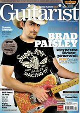 Guitarist Magazine+CD Issue #332 Summer10~Brad Paisley~Gretch Eddie Cochran