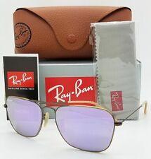 Ray Ban CARAVAN Sunglasses RB3136 167/4K Bronze Copper W/ Lilac Mirror Lens