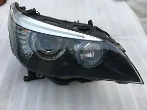 BMW E60 E61 M5 2007-2010 OEM Hella AHL-xenon headlight, right 7044676