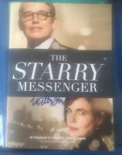 MATTHEW BRODERICK SIGNED THE STARRY MESSENGER THEATRE PROGRAMME THE PRODUCERS