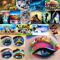 5D Diamond Painting Embroidery Cross Stitch Arts Craft Kit Home DIY Mural Decor