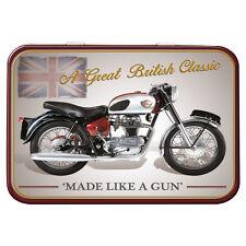 Royal Enfield Crusader Bike Metal Keepsake Tin Men Gift Storage Licensed 50482