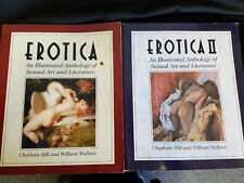 Erotica Illustrated Anthology of Sexual Art & Literature 2 Volumes