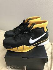 Nike Kobe 1 Protro Del Sol AQ2728-003 Black/White/Varsity Maize Mens Size 12