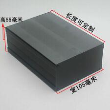 2pcs 150*105*55MM Enclosure Case Aluminum Box shell Circuit Board Project
