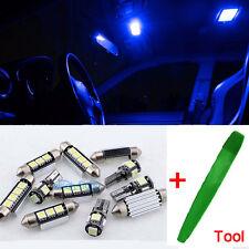 12Pcs Premium LED Interior SMD Bulbs Kit Blue Error Free For Renault Megane 3 L