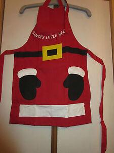 BN Santa's Little Helper Apron