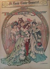 OCT 8, 1905 NEWSPAPER PAGE #J5585- EQUESTRIAN- THE HORSE SHOW / NEW YORK CITY