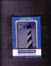1997 Postmark Originals Lighthouse Postal Stamp Change/Trinket Trays
