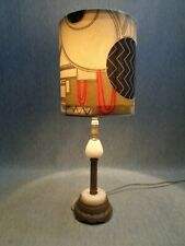 * Priced for Instant Sale!  Egyptian Revivalist Art Deco Lamp, c. 1925
