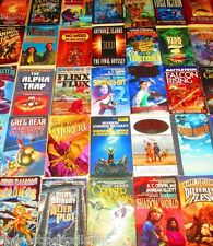 "SCIENCE FICTION/SCI-FI Paperback Book Lot ""INSTANT COLLECTION"" Free Shipping"