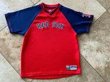 Majestic Boys Youth Large Red Sox Jersey Shirt
