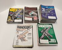 Lot of 99 2018-2020 Magazines Handguns, Shooting Times, Guns, Guns and Ammo, ETC