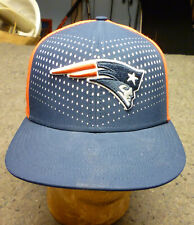New England Patriots Nike True Dri-Fit Hat Cap NWOT Red White Blue Snap-Back