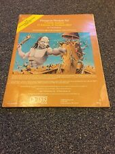 Dungeons & Dragons Castle Amber Chateau d Amberville Module X2 9051 1981 TSR