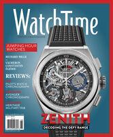 WatchTime Magazine June 2020 - Featuring Zenith IWC Breiling Longines NEW
