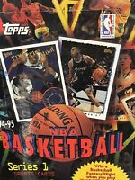 1994-95 Topps Series 1 Hobby Basketball Box Factory Sealed 36 Pk michael Jordan