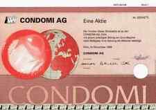 Condomi AG 1999 Köln Erfurt Unimil Ansell Yarra City Unimil Australien Kupons ##