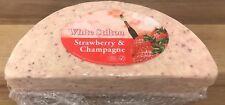 White Stilton With Strawberry & Champange Cheese 1kg Vegetarian