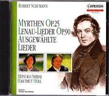 SCHUMANN- Myrthen/Lenau-Lieder/Ausgewahlte CD- Mitsuko Shirai/Hartmut Holl