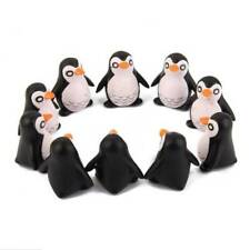 5pcs Resin Penguin Micro Landscape Figurines Dollhouse Craft Bonsai Ornaments